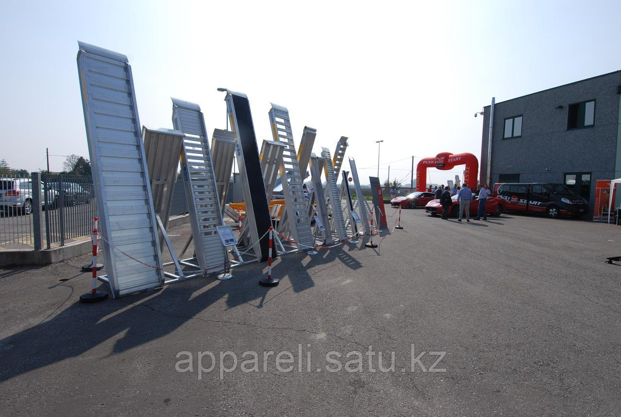Аппарели GKA 30.35.60 алюминиевые для трала