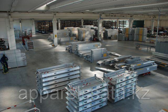Алюминиевые одинарные пандусы от производителя