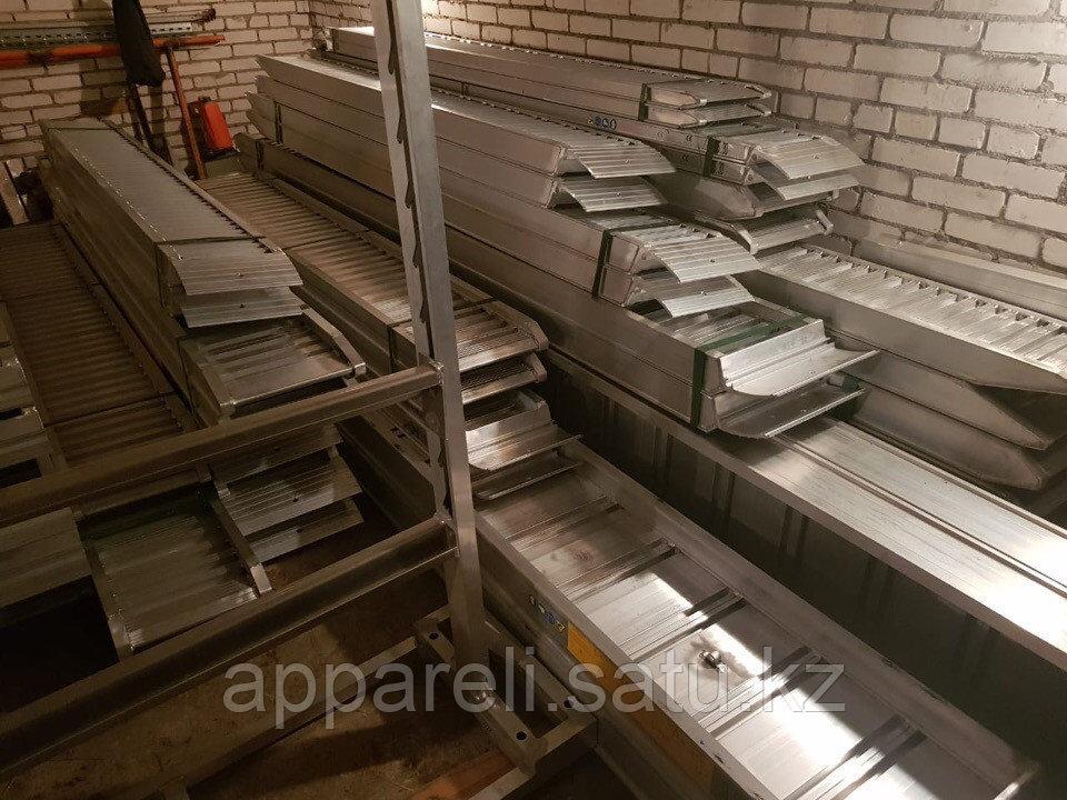 Алюминиевые трапы 1900 кг, 4 метра, 300 мм