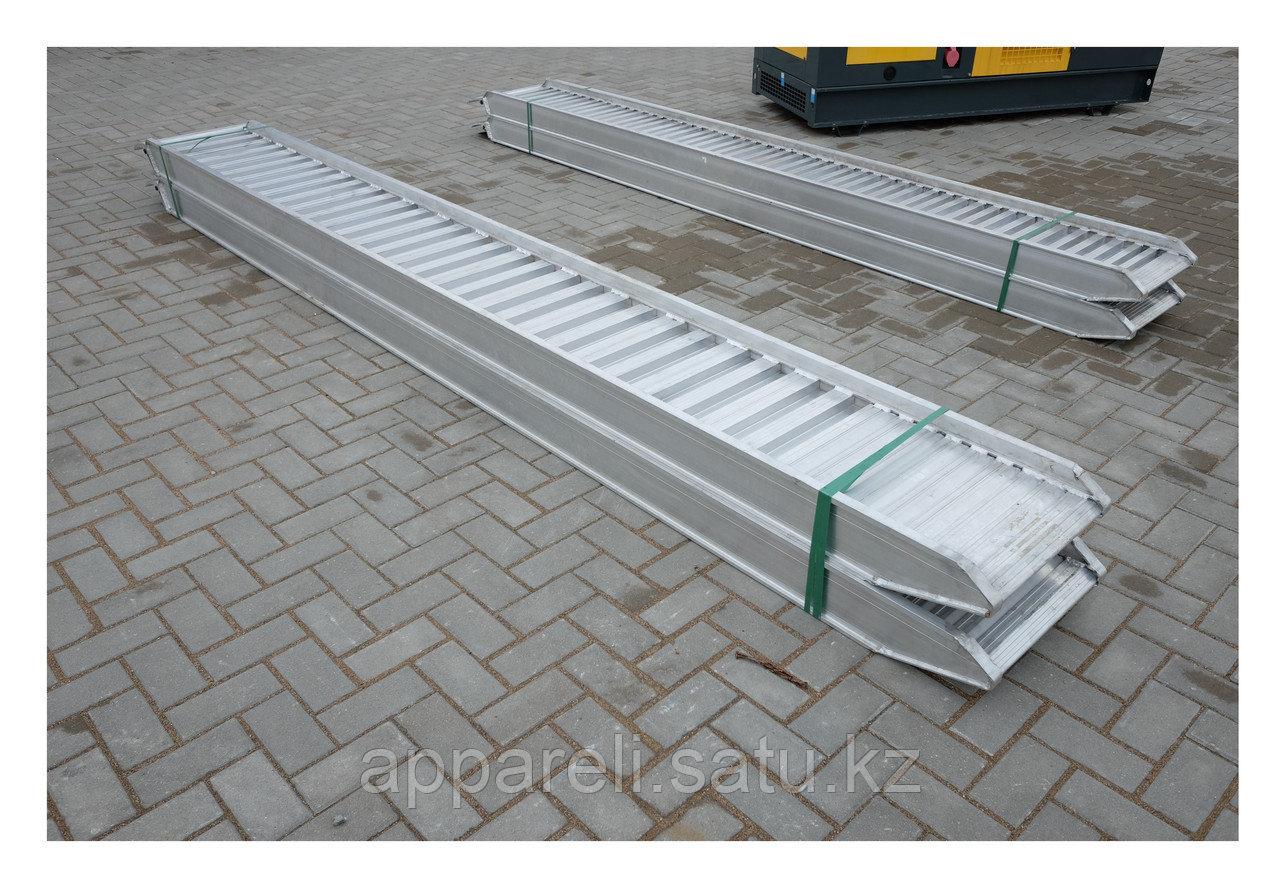 Алюминиевые трапы 5150 кг, 4 метра, 450 мм