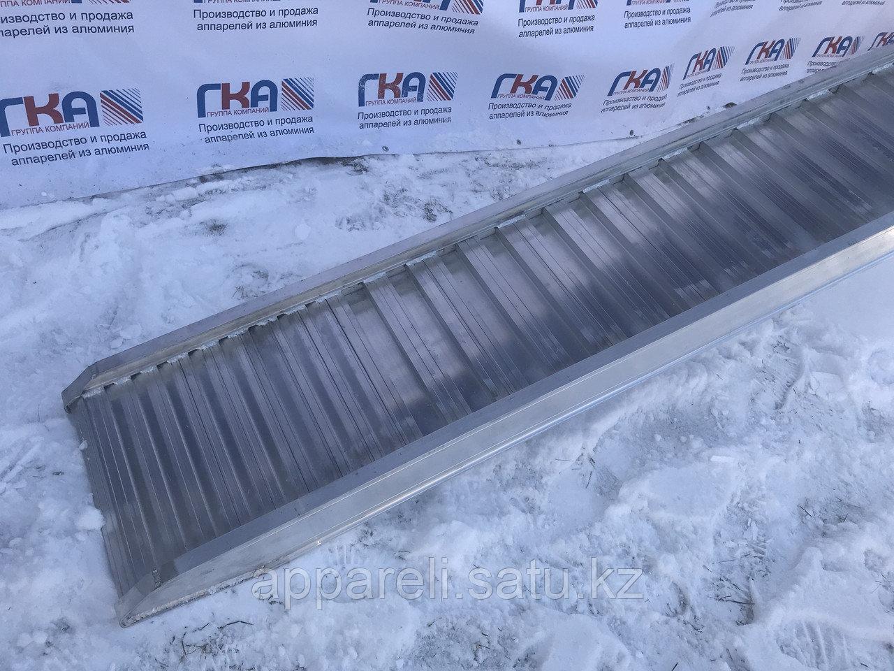 Производство рамп сходней алюминиевых аппарелей 4900 кг