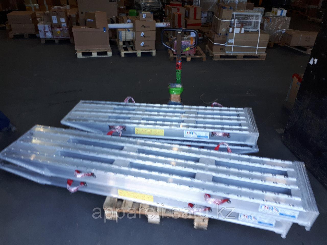 Производство трапов сходней алюминиевых рамп 32-45 тонн
