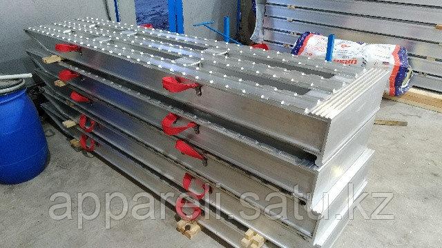 Производство трапов сходней алюминиевых рамп 30-40 тонн