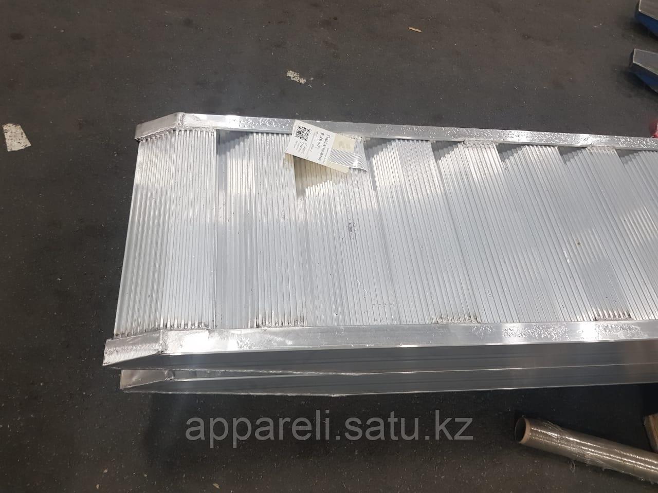 Производство трапов сходней алюминиевых рамп 16-18 тонн