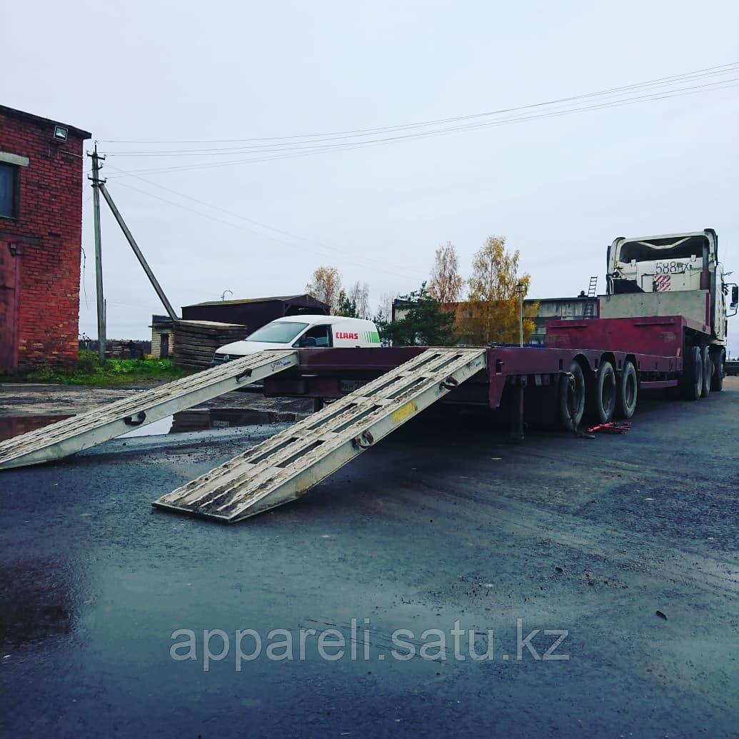 Изготовление алюминиевых рамп 35 тонн