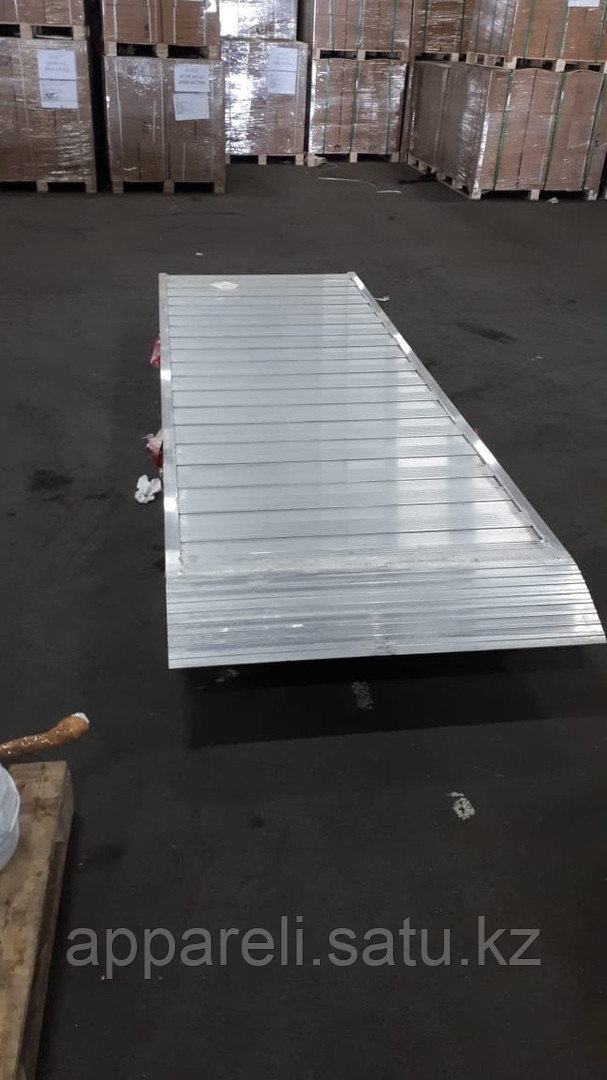 Рампы алюминиевые для спецтехники и полуприцепов до 3х тонн