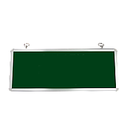 LED ДБА EXIT без пиктограммы (зеленый) 3W 363x152x23 (батарея 1,5 часа) MEGALIGHT (20)