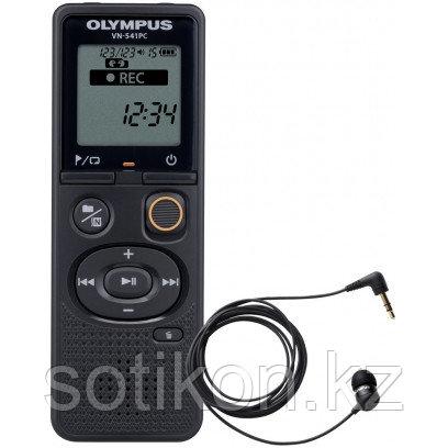 Диктофон Olympus VN-541PC (4Гб) с телефонным микрофоном TP8 черный, фото 2