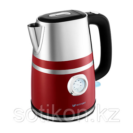 Электрический чайник Kitfort KT-670-2 красный, фото 2