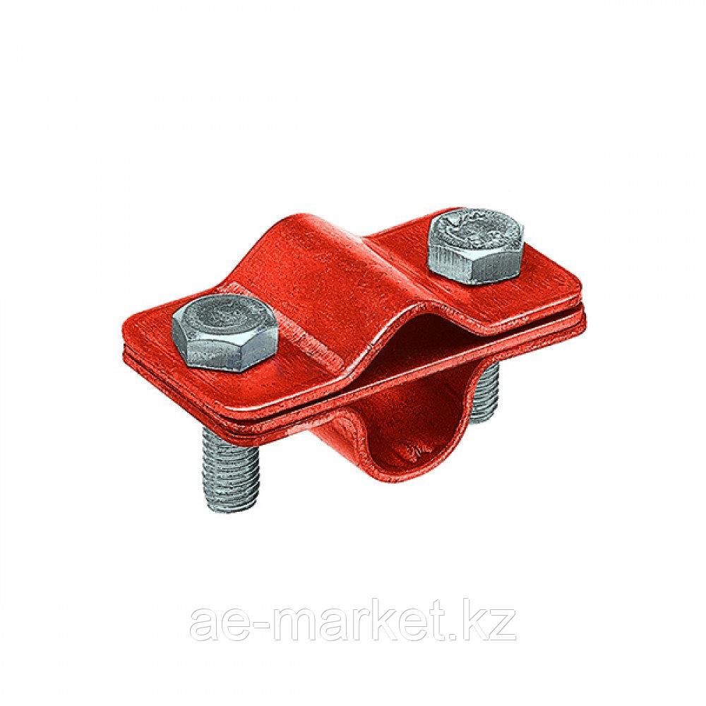Зажим соединительный пруток — стержень 16 мм параллельный, медь