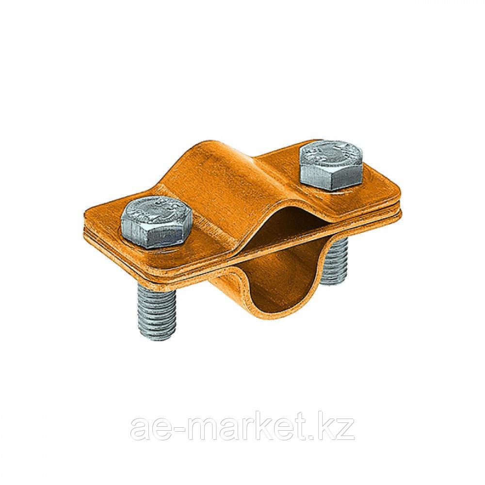 Зажим соединительный пруток — стержень 16 мм параллельный, латунь