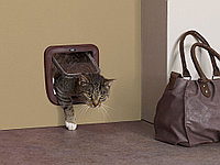 Врезная межкомнатная дверь для кошек и собак мелких пород Savic Access 4-Way Basic
