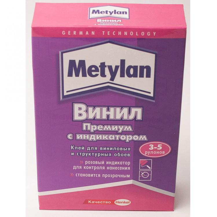 METYLAN Винил Премиум без индикатора Обойный клей для виниловых и структурных обоев, 200 г