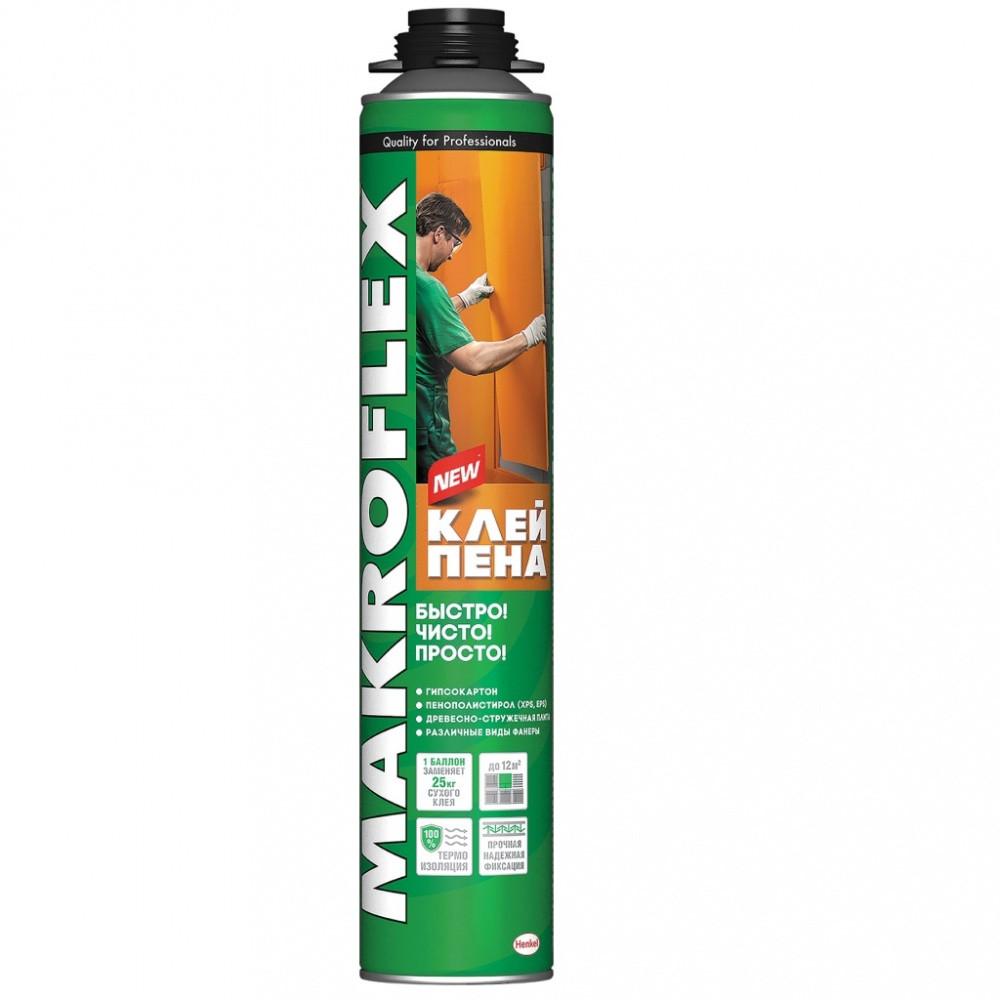 MAKROFLEX Клей-пена Cтроительная профессиональная, 850мл
