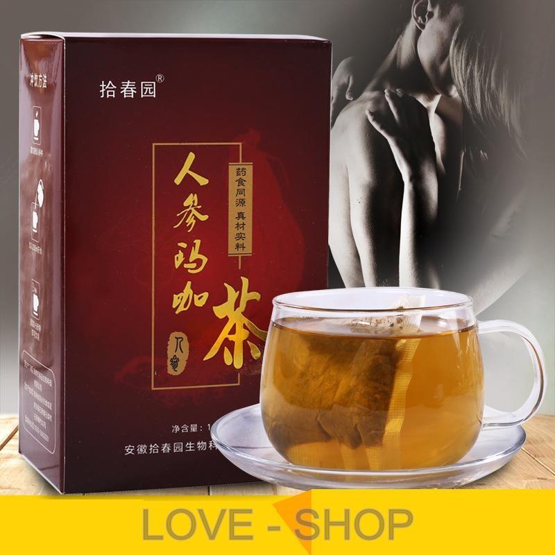 Чай МАКА -  для мужского здоровья и потенции (40 пакетиков).
