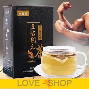 Чай Жень-Шень --  для мужского здоровья и потенции (30 пакетиков).