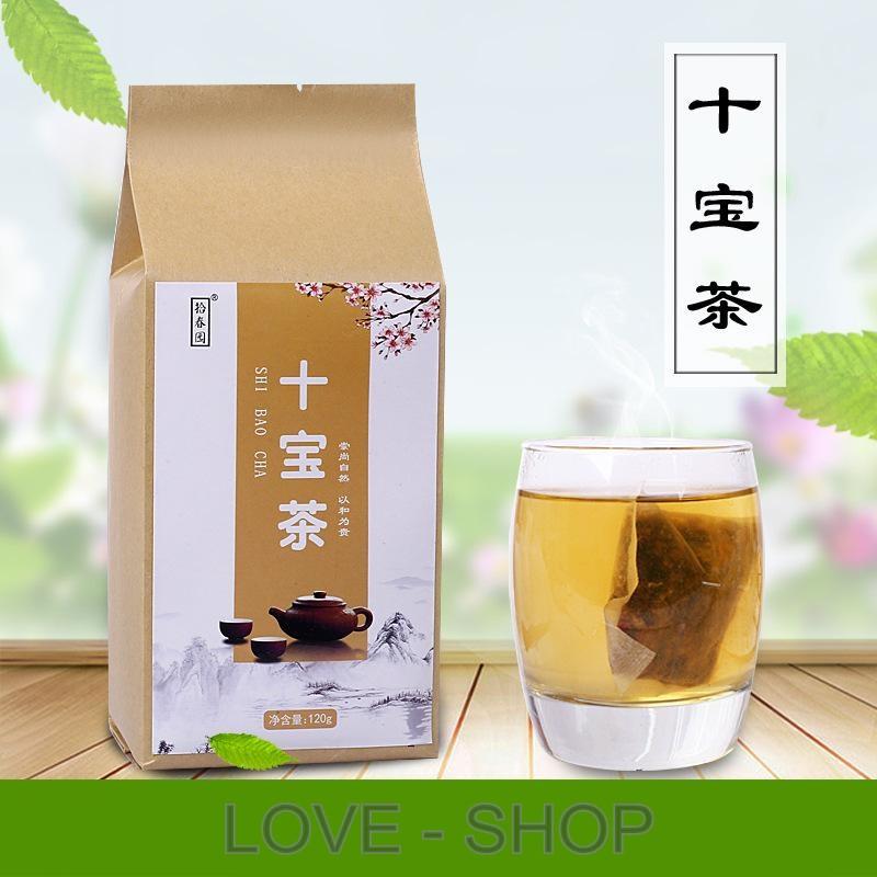 """Оздоровительный чай """"SHI-BAOCHA"""" для укрепления здоровья (30 пакетиков)."""