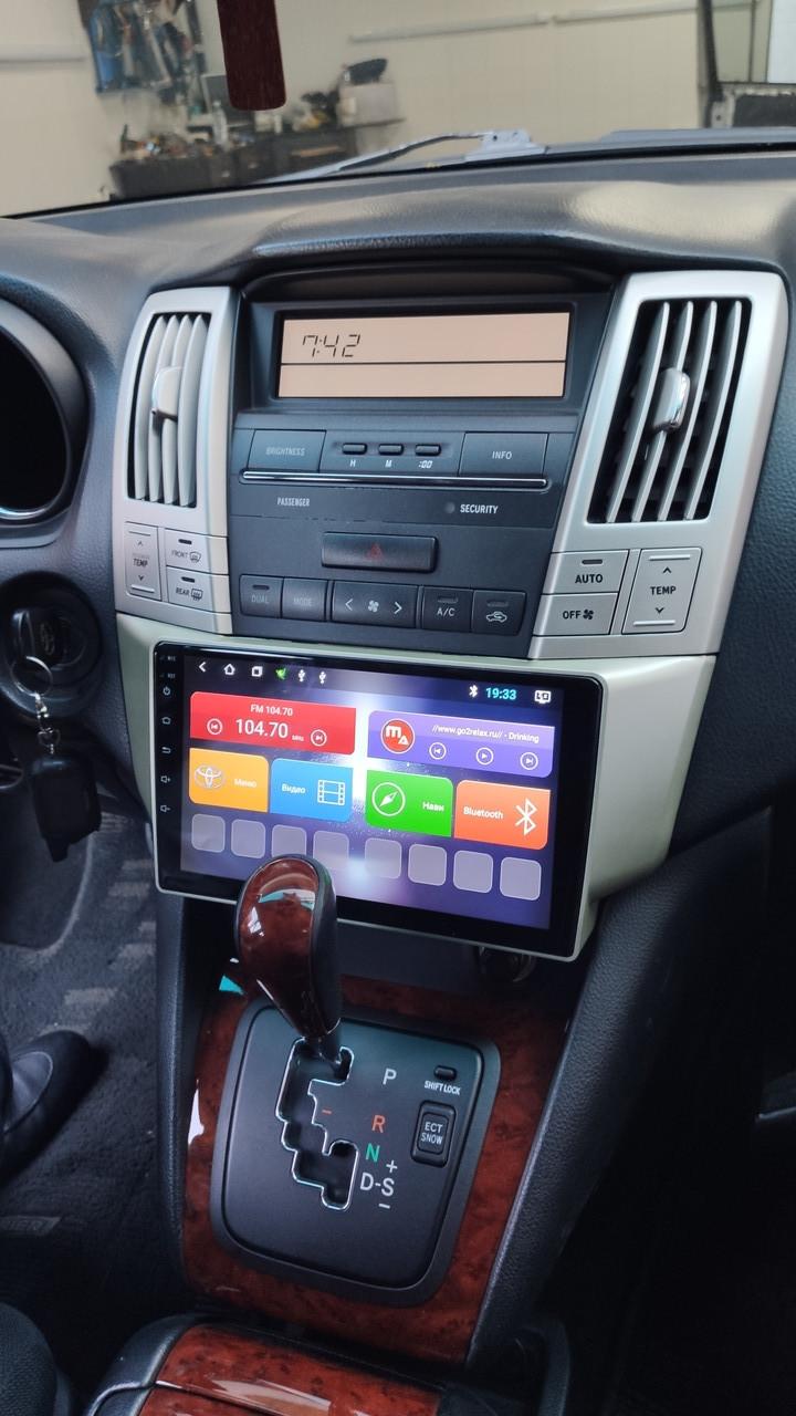 Автомагнитола  Lexus Rx 330/350 Android mac Audio