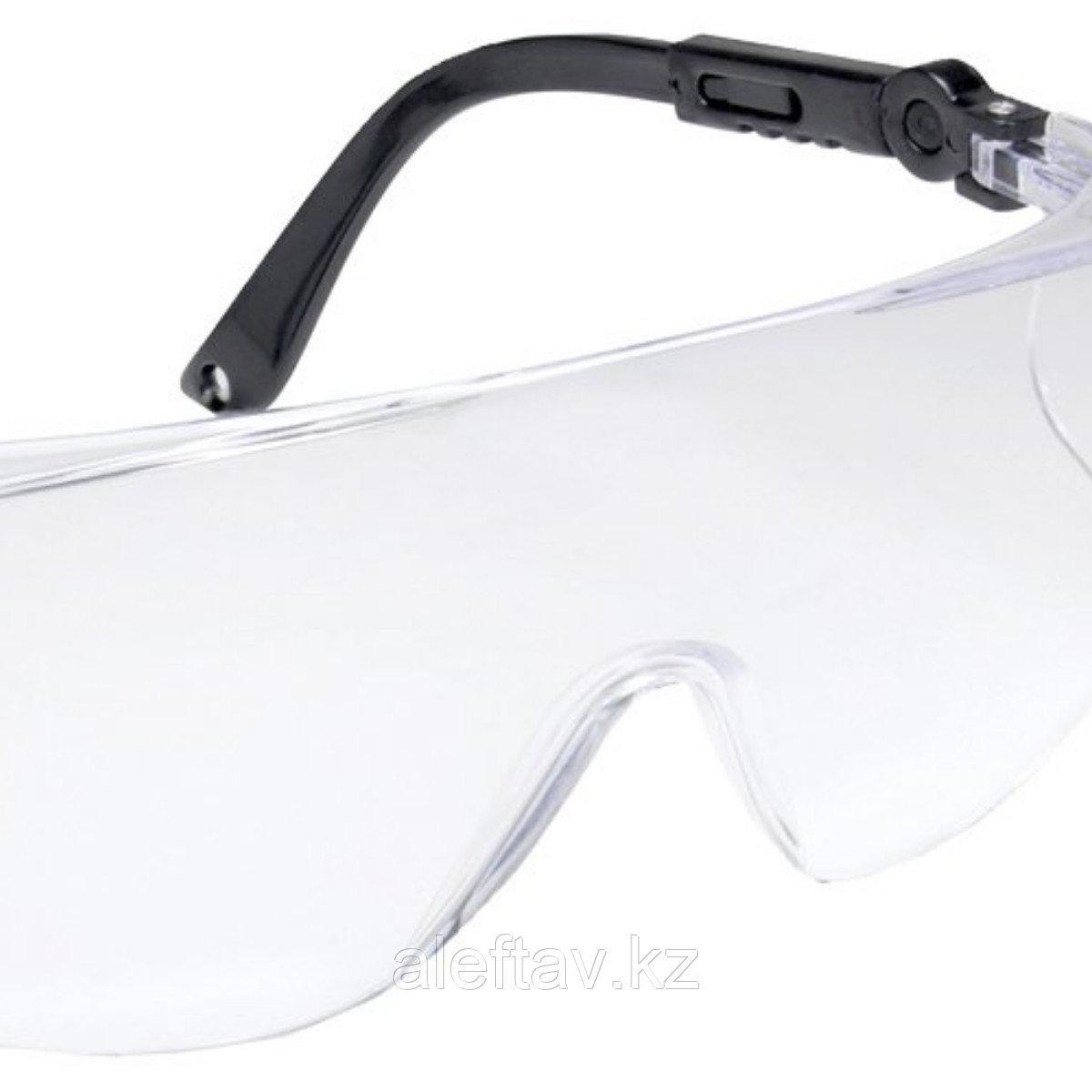 Очки защитные с открытой панорамой по бокам