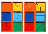 Сложи квадрат. 1-ый уровень сложности.