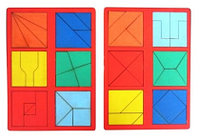 Сложи квадрат. 2-ой уровень сложности.