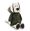 Мягкая игрушка собака Orange Лапуська Осенняя куртка 30см