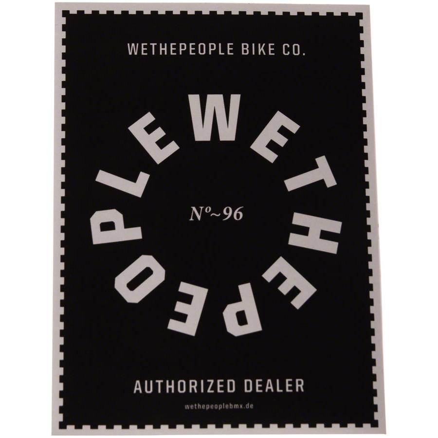Wethepeople  комплект наклеек Authorized Dealer (2шт)