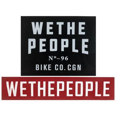 Wethepeople  комплект наклеек Ramp (2шт)