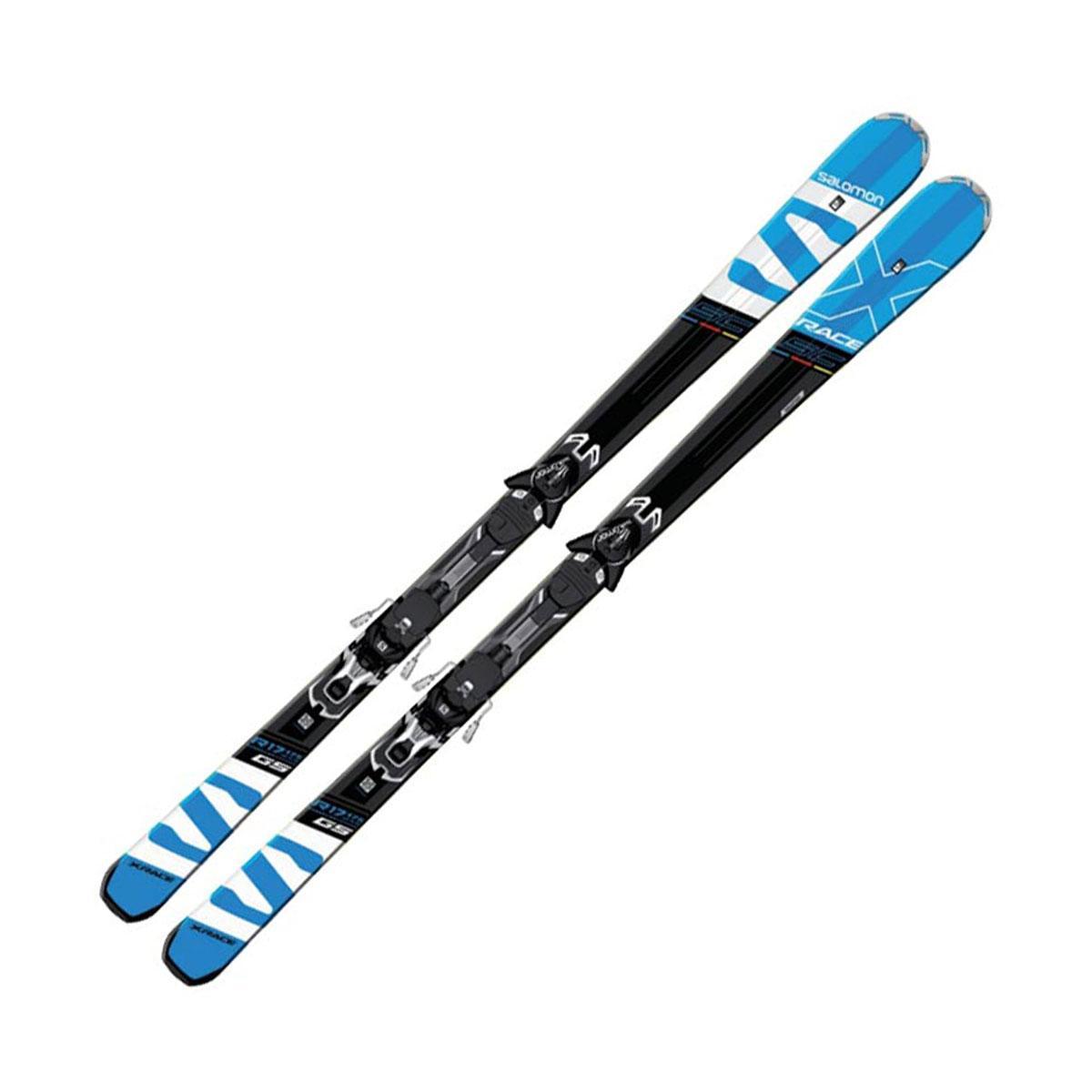 Salomon  лыжи горные M X-Race Sc + M XT12 C90 black