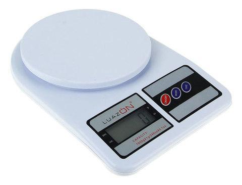 Весы кухонные до 7 кг электронные LuazON, фото 2