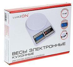 Весы кухонные до 7 кг электронные LuazON, фото 3