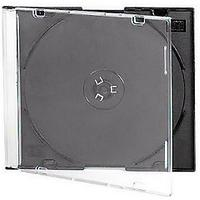Коробочка Slim для CD/DVD диска, черный