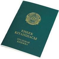 Трудовая книжка, А6, зеленая