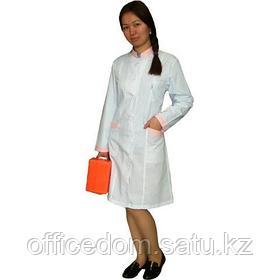 Халат медицинский женский, белый