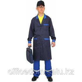 Халат рабочий FLEX, синий