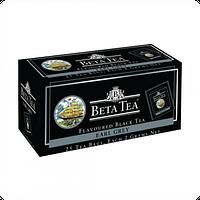Чай черный Beta Tea Earl Grey, Цейлонский, листовой, с бергамотом, 25 х 2 г, пакетированный