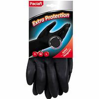Перчатки неопреновые Paclan Extra Protection, M-размер, черный
