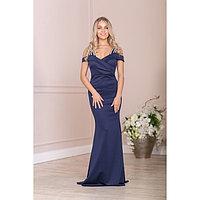 """Платье женское MINAKU """"Alison"""", размер 42, цвет тёмно-синий"""