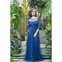 """Платье женское MINAKU """"Dolce"""", размер 42, цвет тёмно-синий"""