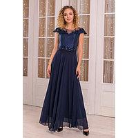 """Платье женское MINAKU """"Felice"""", размер 42, цвет синий"""
