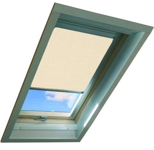Штора ARP (007) Кремовая 66x98 для мансардных окон FAKRO