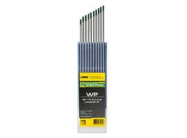 Электроды вольфрамовые Кедр WP-175, 2,4 мм, (зеленые) AC