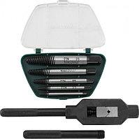 AG010110 Набор экстракторов спиральных конических с держателем 7 предметов