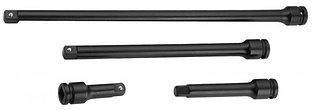 """S03A4E04SA (S03A4E04S) Набор удлинителей для ударного инструмента 1/2""""DR 75-375 мм, 4 предмета"""