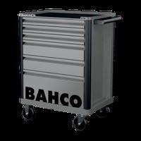 1472K6GREY Инструментальная тележка с 6 ящиками и защитными бортами,серая BACHO