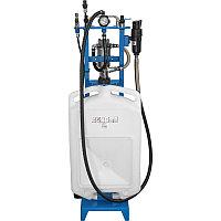 AE300025 Приспособление для отбора технических жидкостей. Пневматический привод. 16 л