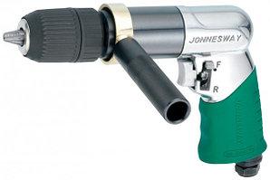 Дрель пневматическая с реверсом 800 об/мин., быстрозажимной патрон 1-13 мм JAD-1027