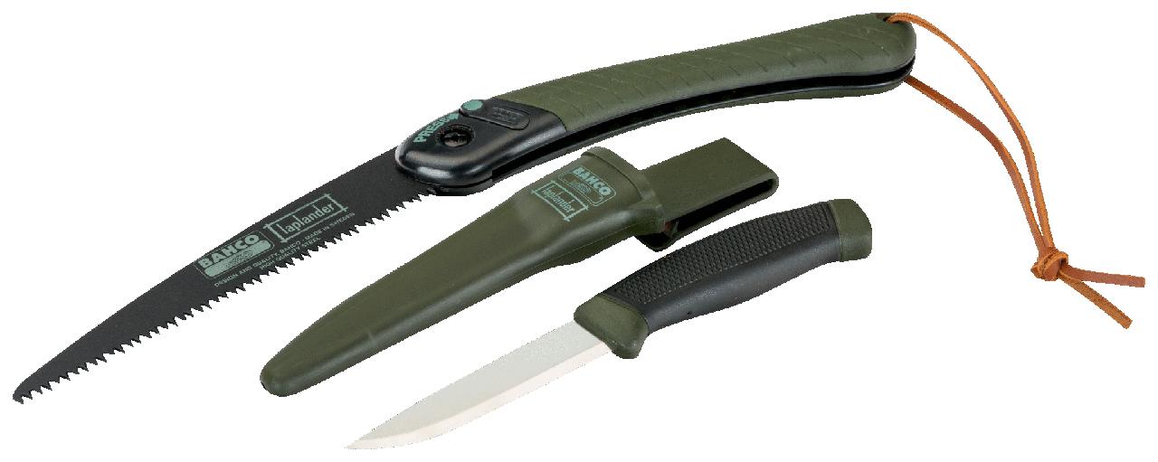 Набор: нож + ножовка складная LAP KNIFE (LAP KNIFE)