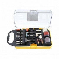 (F-GSK071) Набор аксессуаров для мини-дрелей, 71пр., в пластиковом кейсе