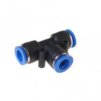 (RF-SPE10) Фитинг T-образный для пластиковых трубок 10мм